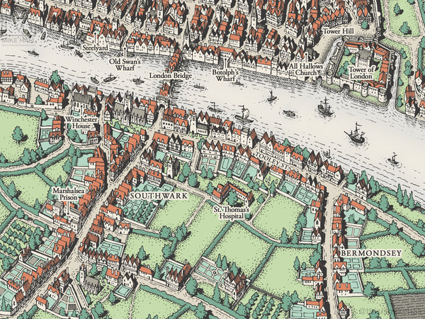 Thomas More's London (full colour version)