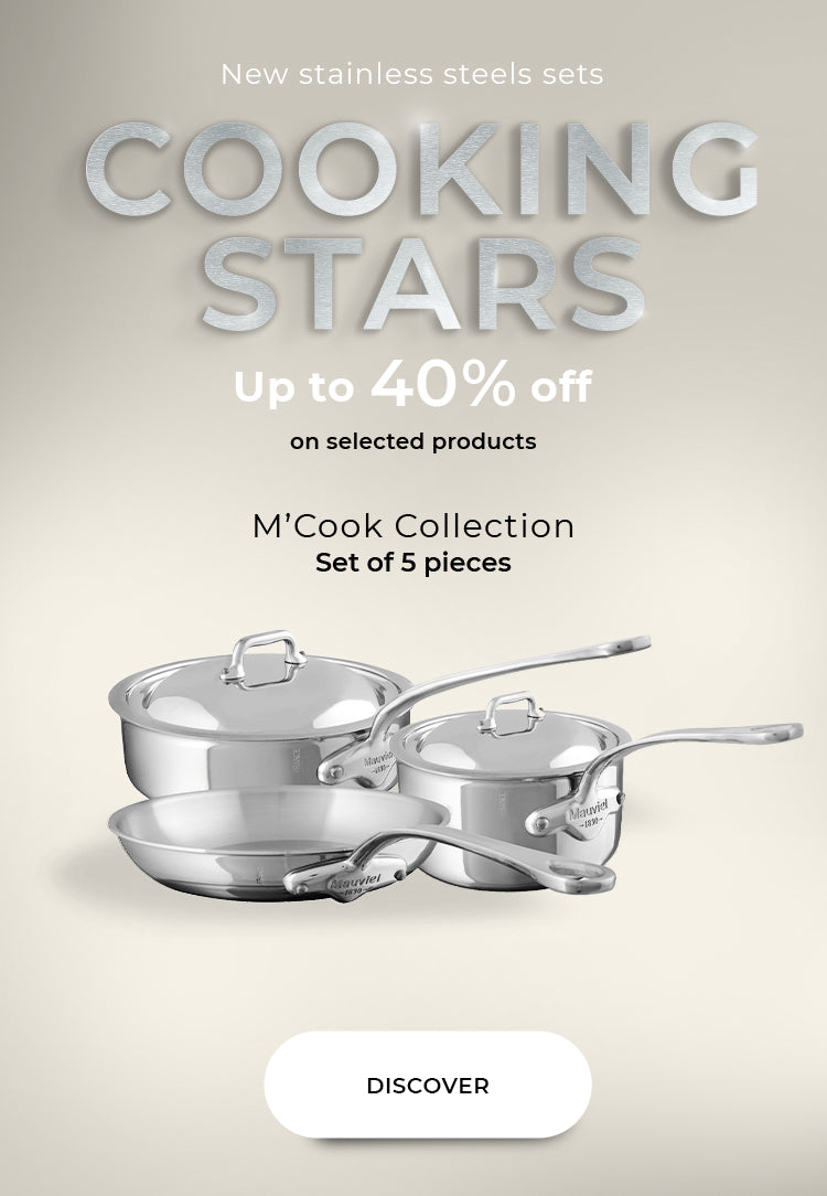 Mauviel M'urban's Cookware set