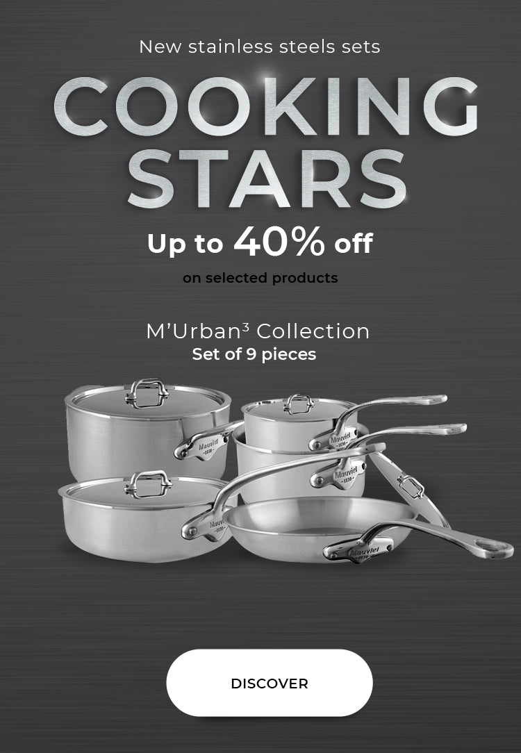 Mauviel M'cook's Cookware set