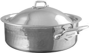 Mauviel USA M'ELITE rondeau with lid M'ELITE rondeau with lid