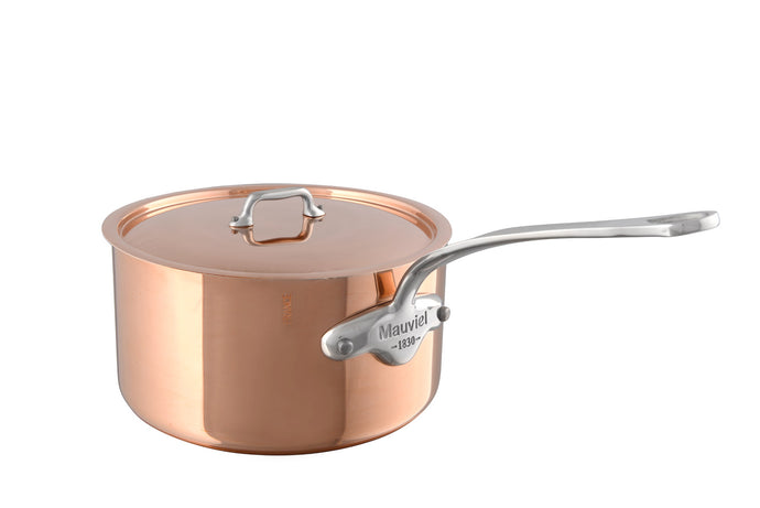 M'HERITAGE 150s saucepan with lid