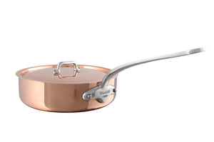 M'HERITAGE 150s saute pan with lid