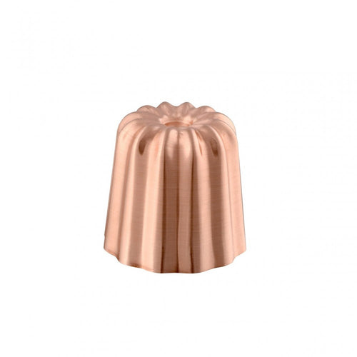 M'Passion copper tinned canele mold packshot
