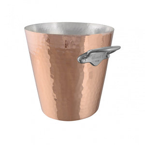 M'30 copper champagne bucket  and stainless steel  handles packshot