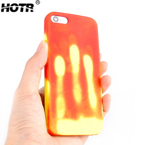 Free Giveaway: Heat Sensitive Soft Case Cover For Iphone 5 /6 /7 /8 Plus X