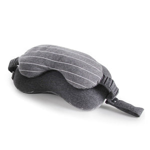 Multi-Function Business Travel Neck Pillow & Eye Mask & Storage Bag with Handle 2019
