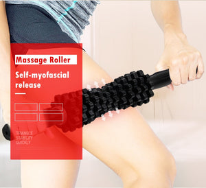 GR Treat Adjustable Muscle Massage Roller Trigger Point Massage Stick