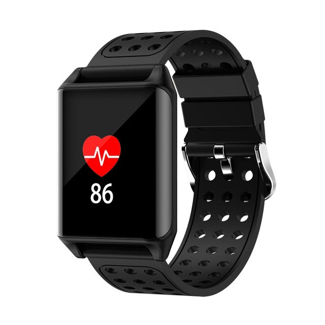 M7 Sport Ip67 Waterproof Support Heart Rate Predometer Smart Watch For Gifts - Black