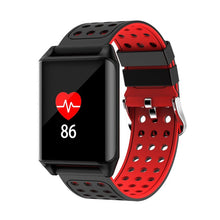 M7 Sport Ip67 Waterproof Support Heart Rate Predometer Smart Watch For Gifts - Red Black