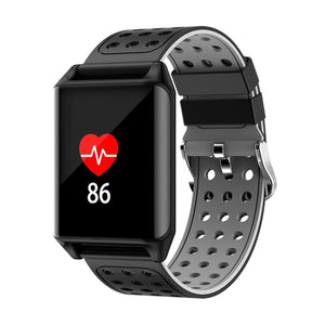 M7 Sport Ip67 Waterproof Support Heart Rate Predometer Smart Watch For Gifts - Black Gray