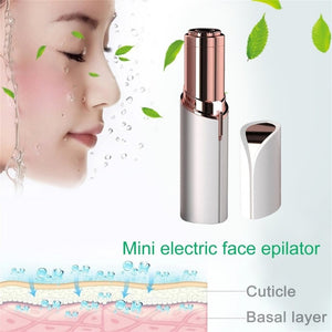 Finishing Touch Flawless Women's Painless Hair Remover | Mini Electric Body Facial Hair Remover