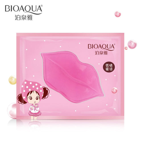 Women Crystal Collagen Moisture Lip Mask Pads