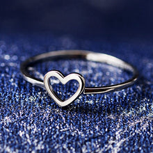 New Cute Little Heart-shaped Love Small Rings Popular Party Rings Best Gift For Girls