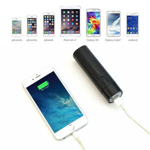 Lipstick Sized Portable Power Bank for iPhone 5s 6 6s 7 8 iPhone X iPad Samsung Huawei Xiaomi OPPO.