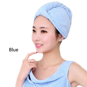 Microfiber Hair Towel – Dries Hair Fast – Large, Soft Drying Wrap – Perfect For Long Or Curly Hair