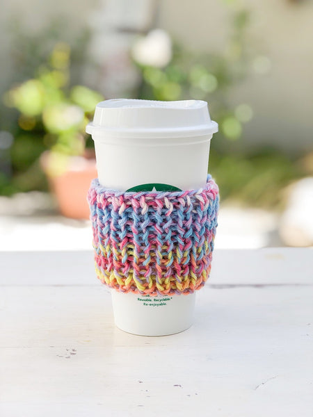 Knitted Cup Cozy