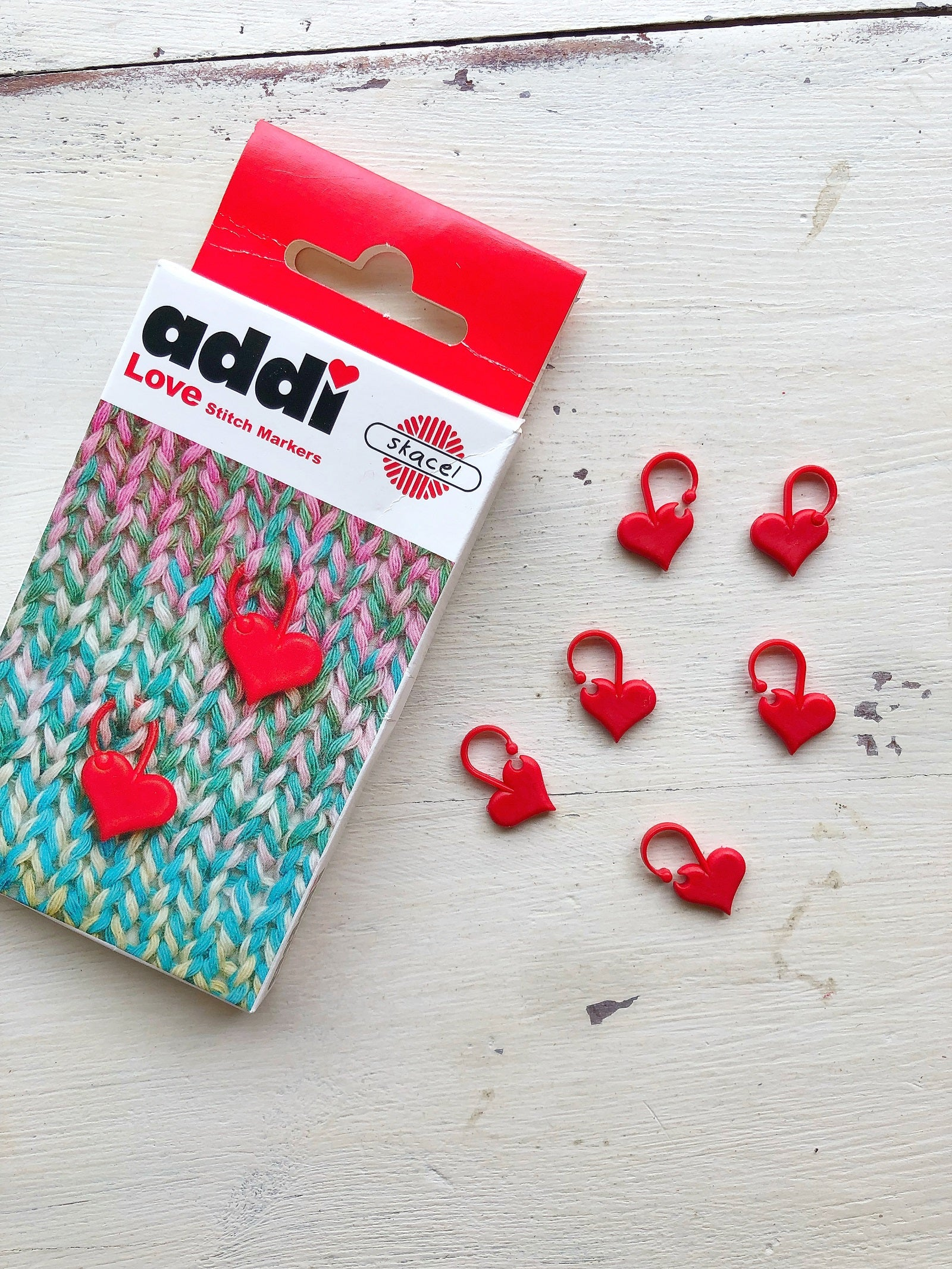 Addi Love Stitch Markers