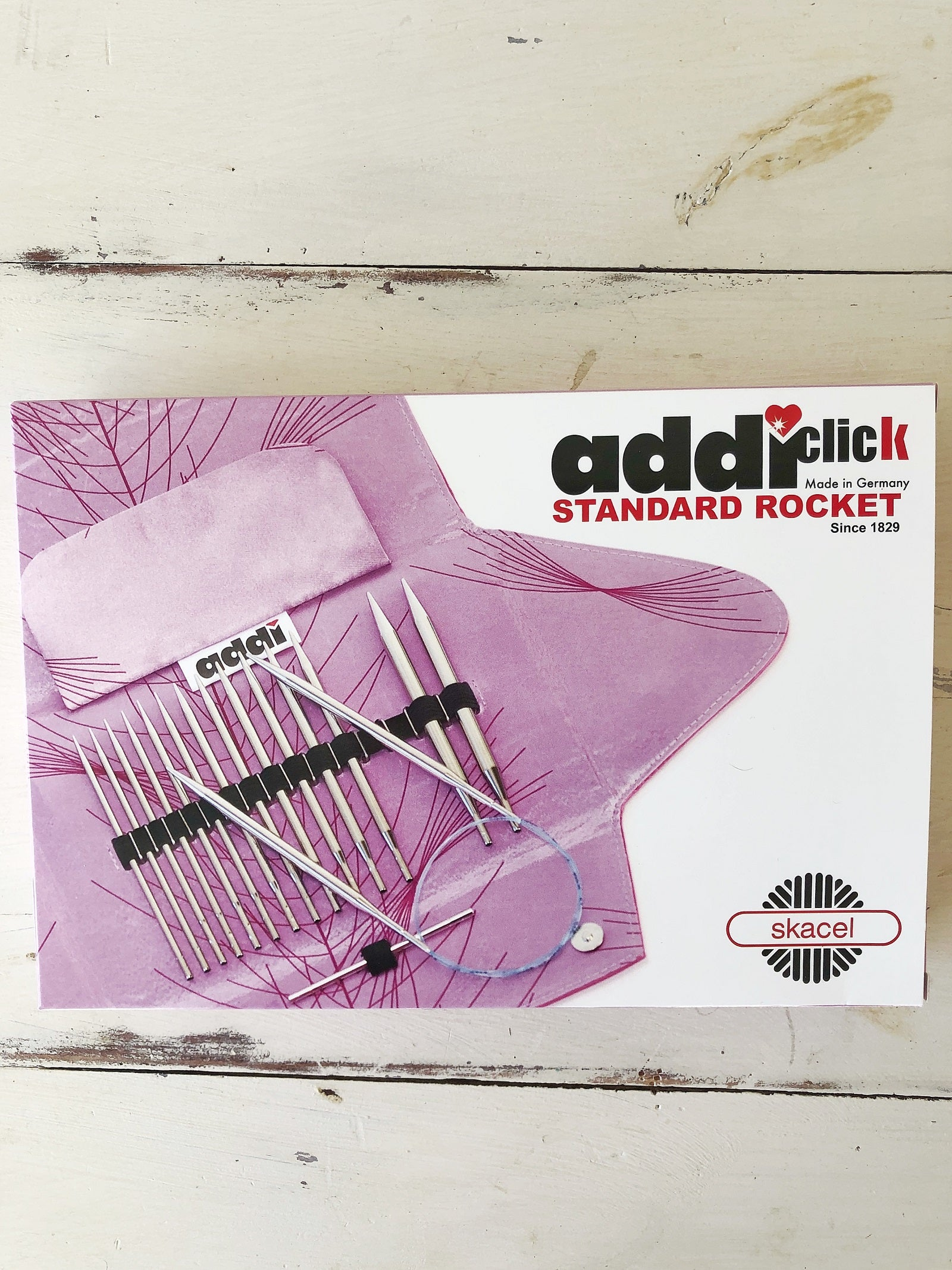 Addi Click Standard Rocket Interchangeable Needle Set