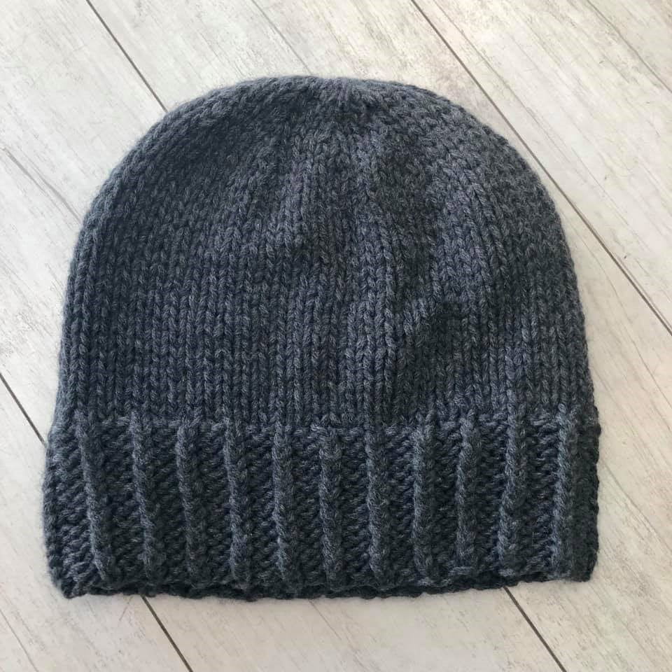 Barrington Beanie Pattern - Bulky Cashmere Version