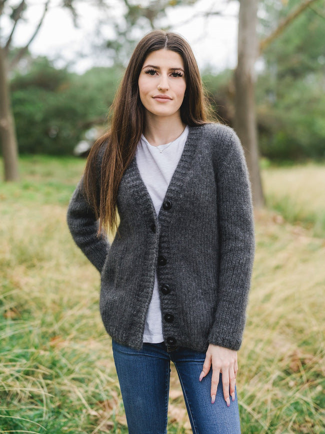 Cozy Cardi Kit in Cashmere Light