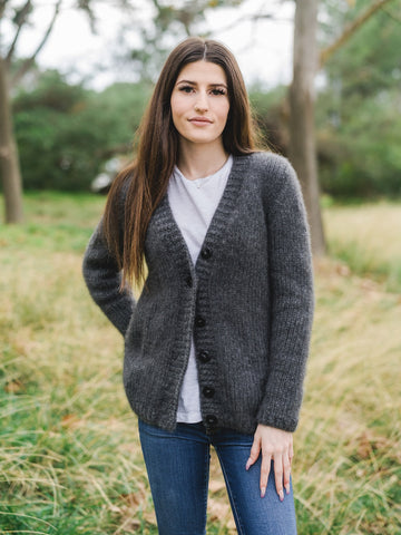 Thea Three Cable Turtleneck Pullover Kit