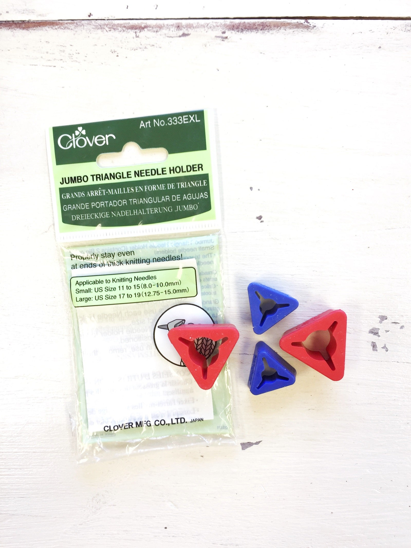 Clover Jumbo Triangle Needle Holder