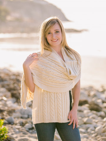 Ribbed Cable Cardigan Pattern