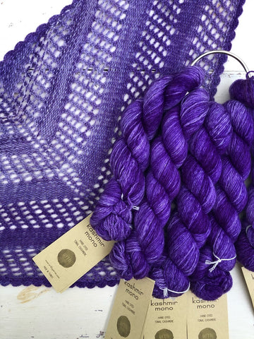 NEW COLORS! Jennifer Pure Cashmere Cable Scarf Kit