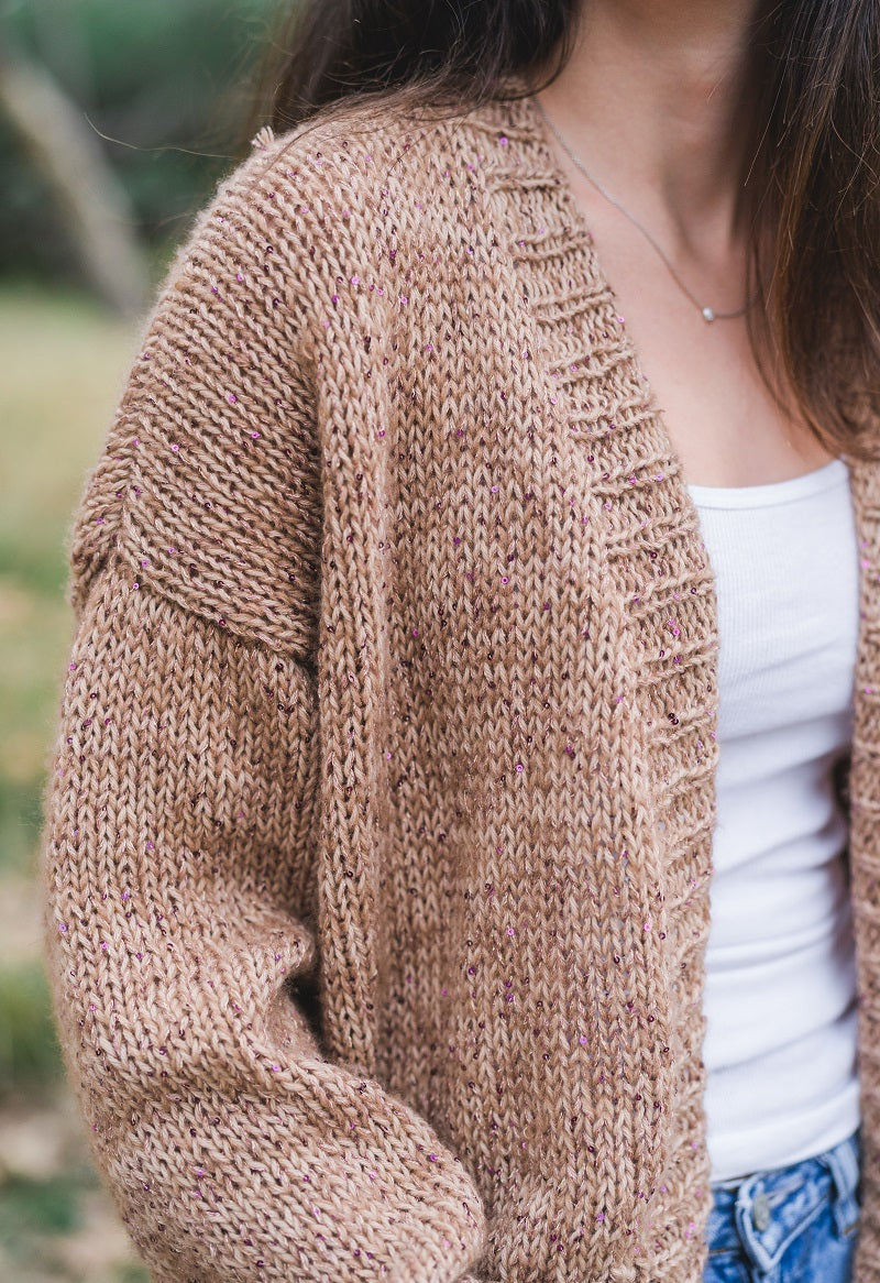 Lana Gatto Sequin Cardigan