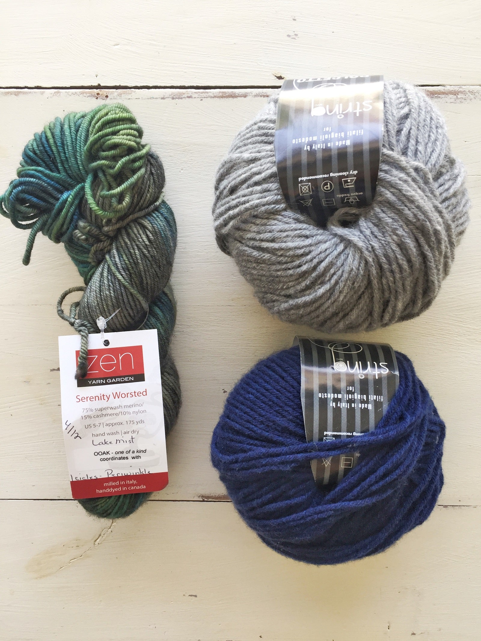 Zen and Dolcetto Striped Cardigan Kit