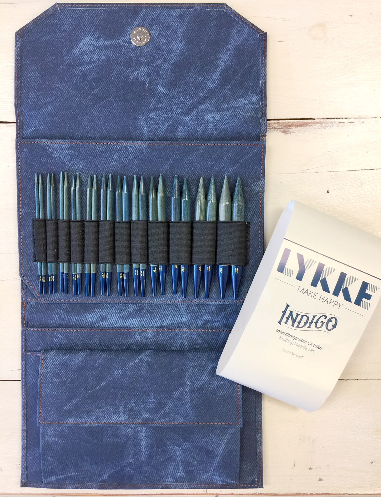 "Lykke 5"" Interchangeable Circular Knitting Needle Set"