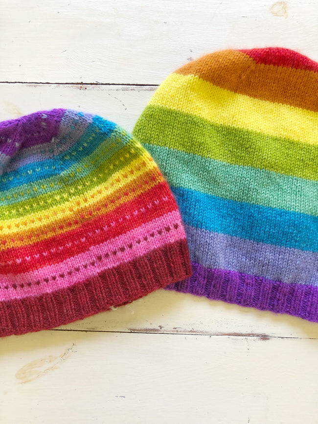 Cashmere Coloring Box Hat Kit