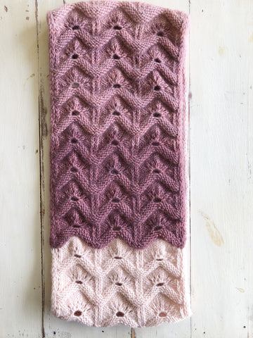 Branches of Cables Shawl