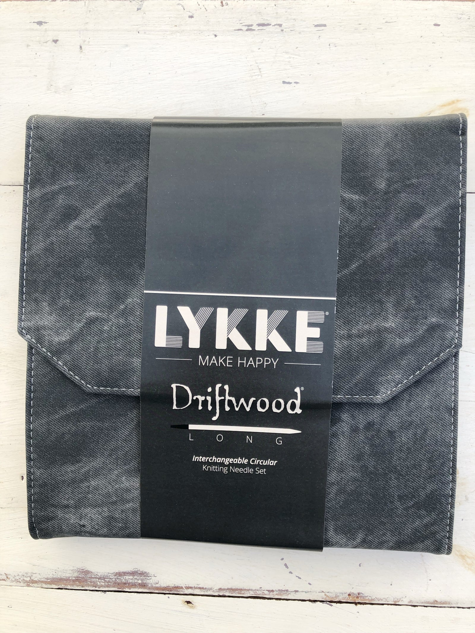 Lykke Driftwood LONG Interchangeable Circular Knitting Needle Set