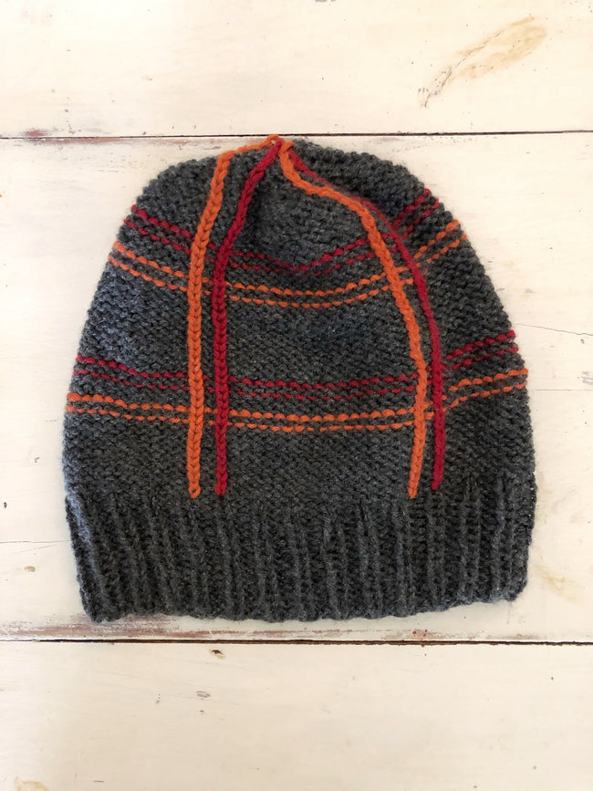 Mad for Plaid Cashmere Hat Kit