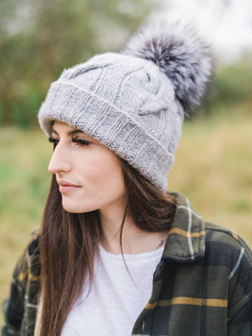 Tulum Hat Kit with Optional Fur Pom Pom