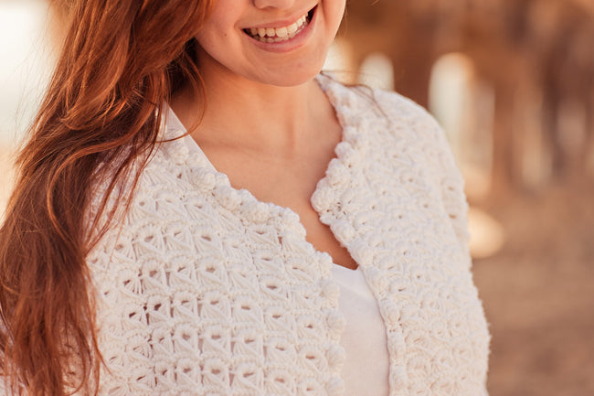 Coco 1950 Lace Zara Cardigan Kit