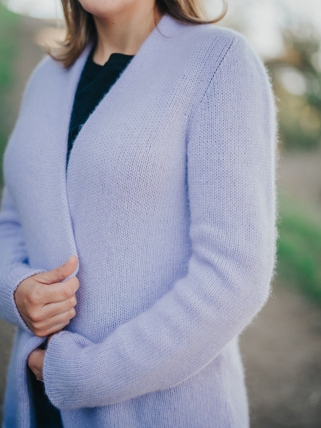 Easy Roll In Neck Filatura Cardigan Kit
