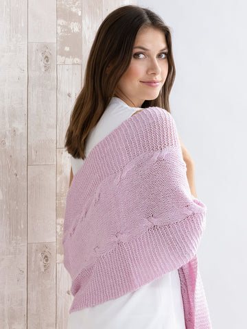 Three Cable V Neck Pullover Pattern