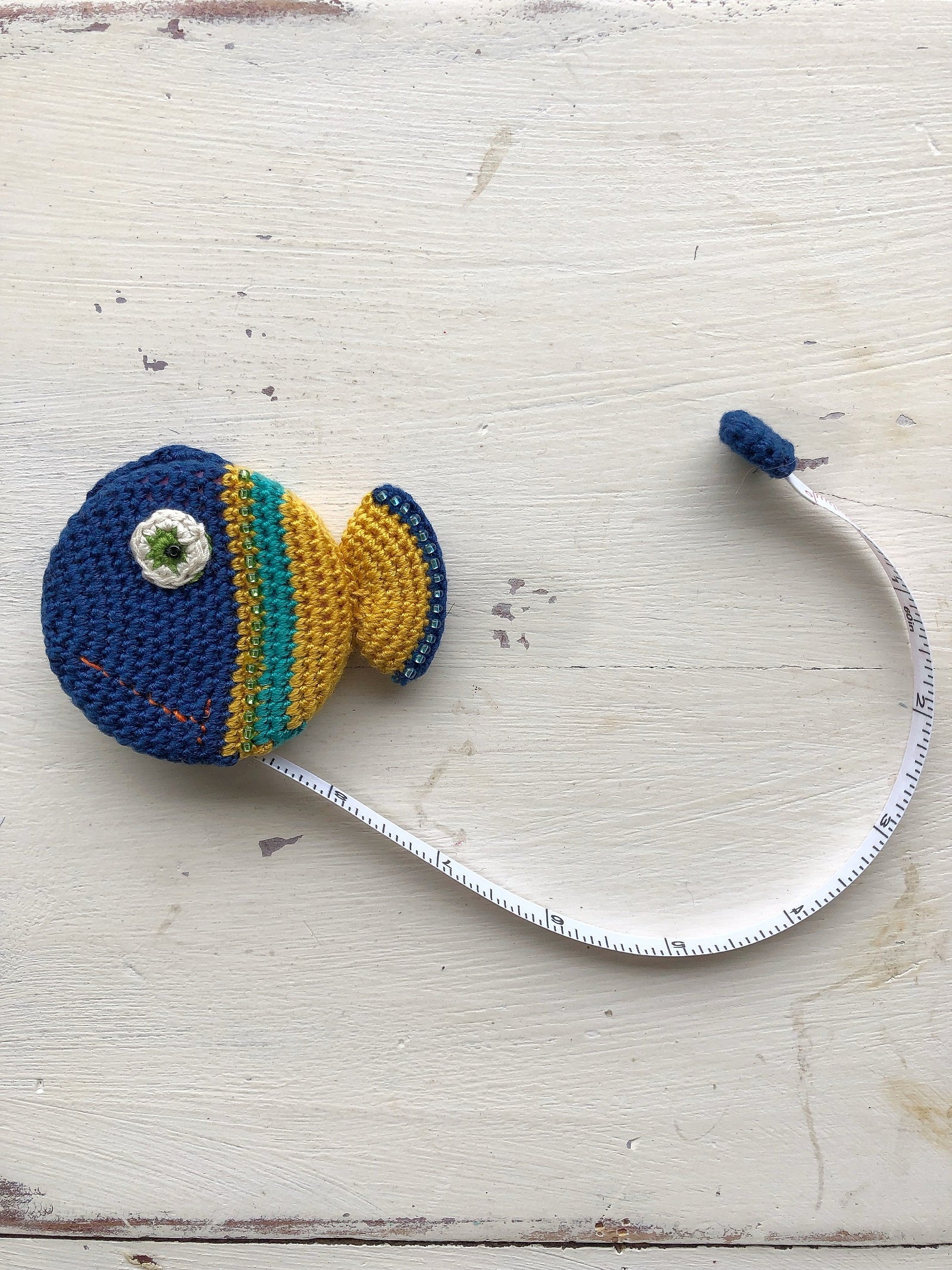 Paradise Crocheted Tape Measure