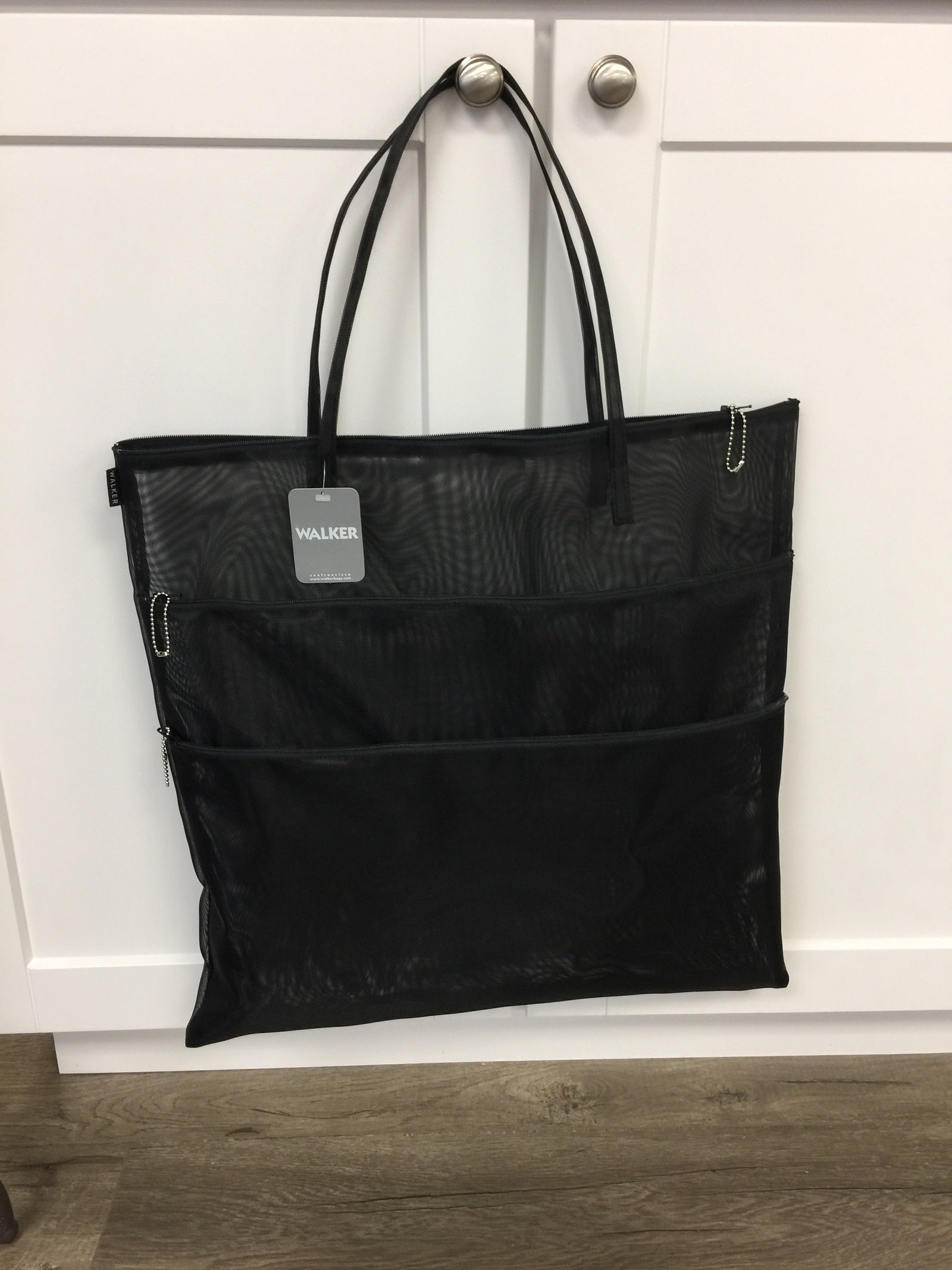 Walker Triple Zip Tote with Handles