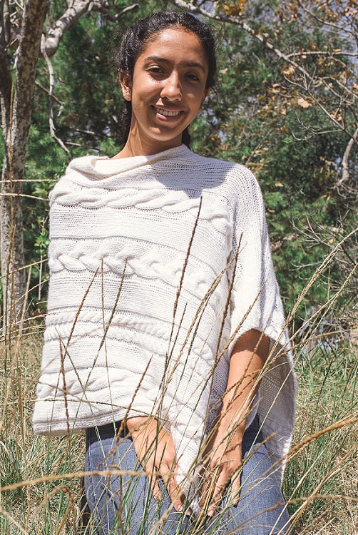 Dianne Cable Poncho Pattern