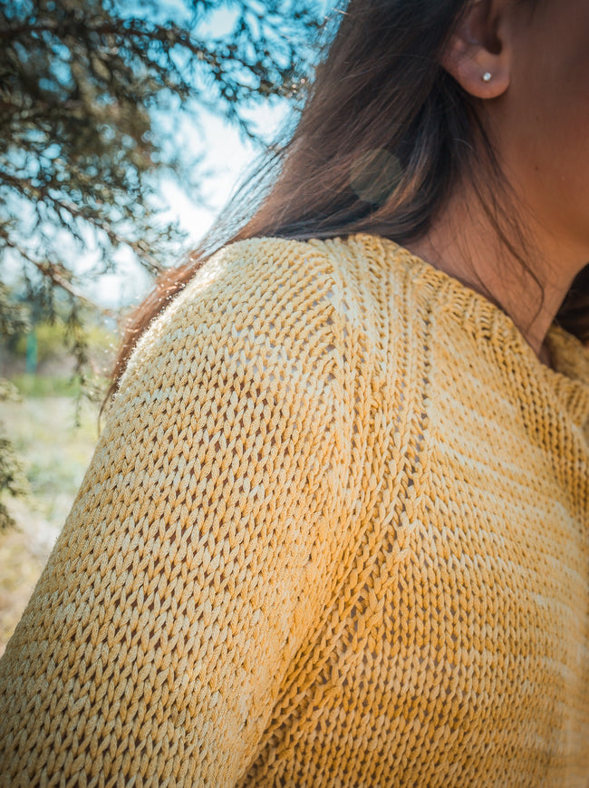 Simple Raglan Pullover Pattern