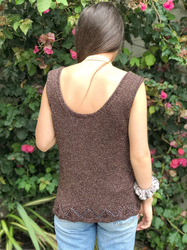 Horseshoe Stitch Tank Top Pattern