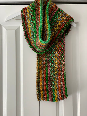 Multicolor Shawl Pattern - Revised by Jennifer
