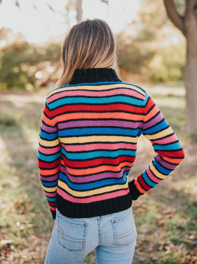 Over the Rainbow Cashmere Pullover Kit