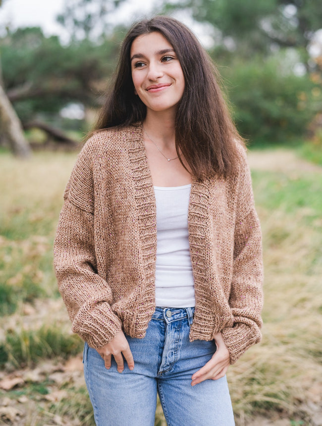 Lana Gatto Cashmere and Sequins Cardigan Pattern