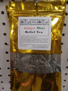 Ginger Mint Relief Tea