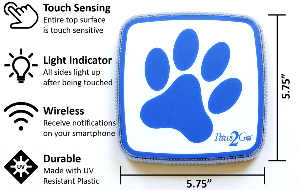 Top Features of the Paws2Go Dog Doorbell