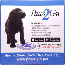 Front of the Paws2Go product box